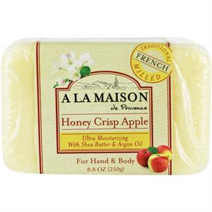 A La Maison Bar Soap, Honey Crisp Apple 8.8 oz