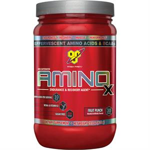 BSN AMINO X Effervescent Instantized BCAA's Fruit Punch 435 gm