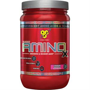 BSN AMINO X Effervescent Instantized BCAA's Strawberry Dragonfruit 435 gm