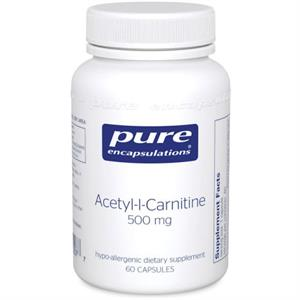 Pure Encapsulations Acetyl-l-Carnitine 60 Capsules