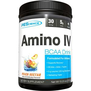 PEScience Amino IV BCAA Peach Nectar 375 gm - 30 Servings