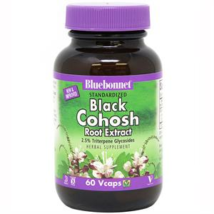 Bluebonnet Standardized Black Cohosh Root Extract 60 Vegetable Capsules