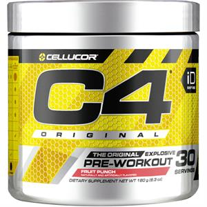Cellucor C4 Original Pre-Workout Fruit Punch 180 gm - 30 Servings