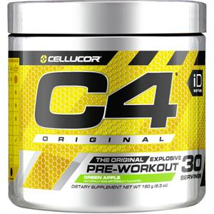 Cellucor C4 Original Pre-Workout Green Apple 180 gm - 30 Servings