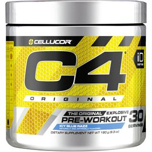 Cellucor C4 Original Pre-Workout Icy Blue Razz 180 gm - 30 Servings