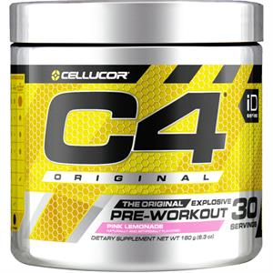 Cellucor C4 Original Pre-Workout Pink Lemonade 180 gm - 30 Servings