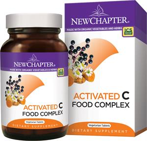 New Chapter Activated C Food Complex 180 Tablets