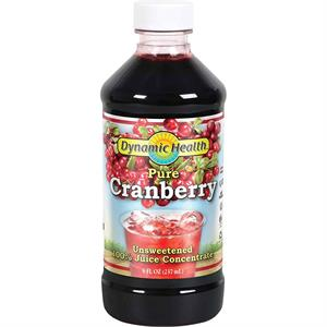 Dynamic Health Pure Cranberry Unsweetened 100% Juice Concentrate 16 oz