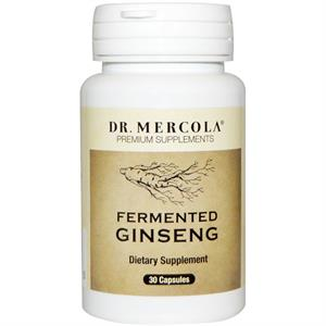 Dr. Mercola Fermented Ginseng 96 mg - 30 Capsules