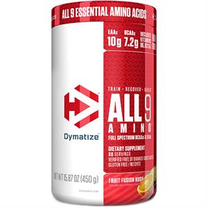 Dymatize ALL 9 AMINO BCAAs & EAAs Fruit Fusion Punch 450 gm
