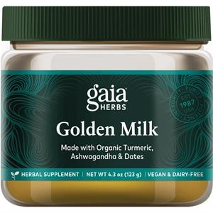 Gaia Herbs Golden Milk 4.3 oz - 35 Servings