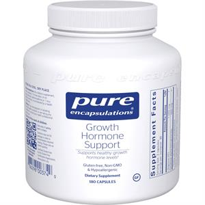 Pure Encapsulations Growth Hormone Support 180 Capsules