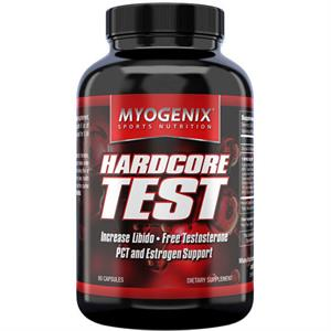 Myogenix HARDCORE TEST - 80 Capsules