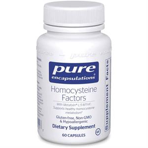 Pure Encapsulations Homocysteine Factors 60 Capsules