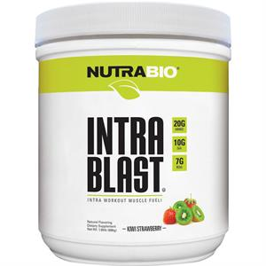 NutraBio Intra Blast Natural Intra-Workout Kiwi Strawberry - 30 Servings