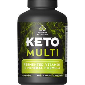 Ancient Nutrition Keto MULTI 180 Capsules - 30 Servings