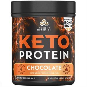Ancient Nutrition Keto PROTEIN Chocolate 540 gm - 17 Servings