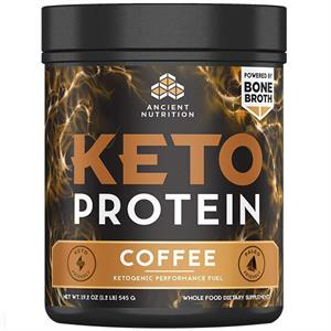 Ancient Nutrition Keto PROTEIN Coffee 545 gm - 17 Servings