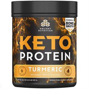 Ancient Nutrition Keto PROTEIN Turmeric 520 gm - 17 Servings
