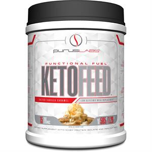 Purus Labs KETO FEED Protein Somoa Chocolate Creme 1.33 lb - 15 Servings