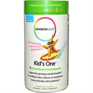 Rainbow Light Kids One Chewable Multivitamin & Mineral 90 Tablets