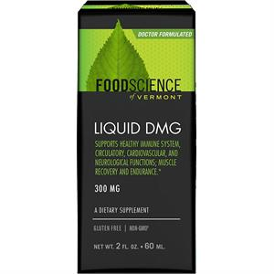 FoodScience of Vermont Liquid DMG 300 mg - 2 oz - 60 Servings