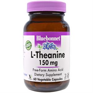 Bluebonnet L-Theanine 150 mg Vegetable - 60 Capsules
