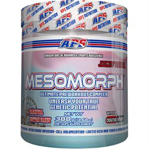 APS Mesomorph Pre-Workout Complex CARNIVAL COTTON CANDY 388 gm