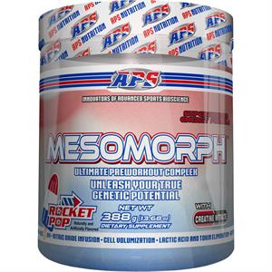 APS Mesomorph Pre-Workout Complex ROCKET POP Flavor 388 gm