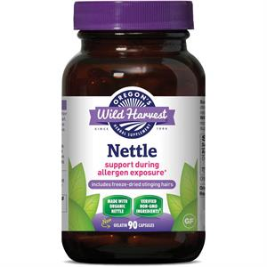 Oregon's Wild Harvest Nettle (Freeze-dried), Organic 90 Capsules