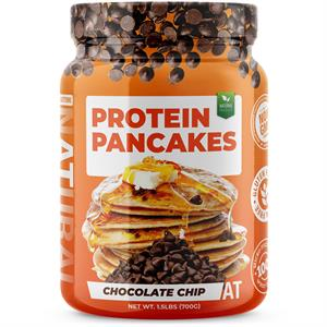 About Time 100% PROTEIN PANCAKES Chocolate Chip 1.5 lb - 10 Servings
