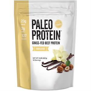 Julian Bakery Paleo Protein Vanilla Nut Grass-Fed Beef Protein 30 Servings - 2 lb