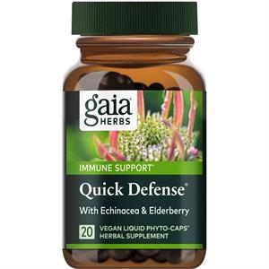Gaia Herbs Quick Defense - 20 Capsules