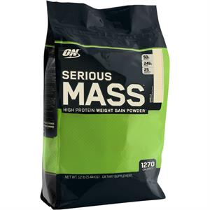 Optimum Nutrition SERIOUS MASS 12 lb - Vanilla