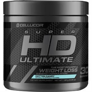 Cellucor SUPERHD ULTIMATE POWDER Cotton Candy 180 gm - 30 Servings