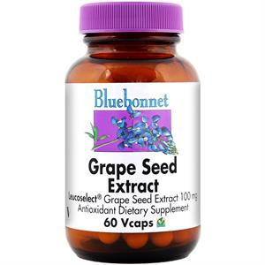 Bluebonnet Super Fruit Grape Seed Extract - 60 Vegetable Capsules