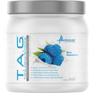 Metabolic Nutrition T.A.G. Muscle-Targeted Glutamine Blue Raspberry