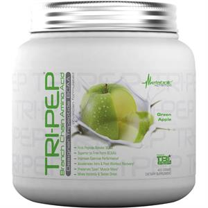 Metabolic Nutrition TRI-PEP BCAA Green Apple 400 gm - 40 Servings