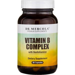 Dr. Mercola Vitamin B Complex 60 Capsules - 30 Servings