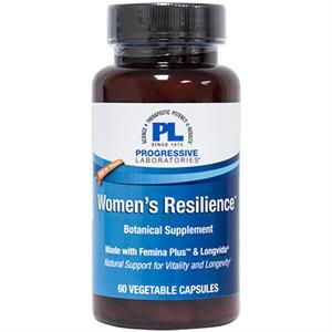 Progressive Laboratories WOMENS RESILIENCE 60 Capsules - 30 Servings