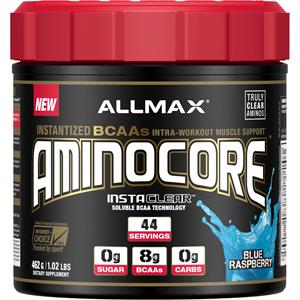 Allmax Nutrition AMINOCORE Blue Raspberry 462 gm - 44 Servings