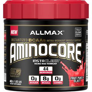 Allmax Nutrition AMINOCORE Fruit Punch Splash 462 gm - 44 Servings