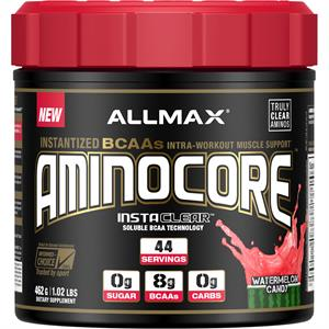 Allmax Nutrition AMINOCORE Watermelon Candy 462 gm - 44 Servings