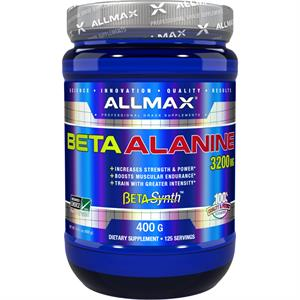 Allmax Nutrition Beta-Alanine 400 gm - 125 Servings