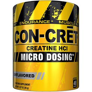 Con-Cret Creatine HCl Micro Dosing Unflavored 1.27 oz - 48 Servings