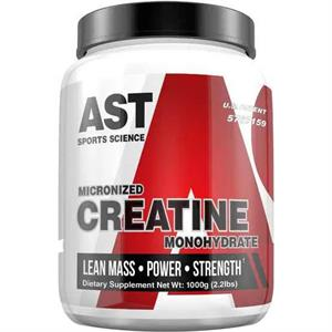 AST Sports Micronized Creatine 1000, 1000 gm - 200 Servings