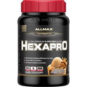 Allmax Nutrition HEXAPRO Chocolate Peanut Butter 3 lb - 31 Servings