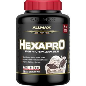 Allmax Nutrition HEXAPRO Cookies & Cream 5 lb - 51 Servings