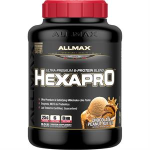 Allmax Nutrition HEXAPRO Chocolate Peanut Butter 5.5 lb - 57 Servings