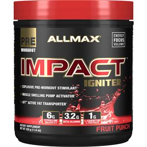 Allmax IMPACT IGNITER Explosive Pre-Workout Fruit Punch 328 gm